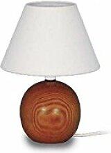 Tosel e0259a Lampe Lampen Holz/Lampenschirm