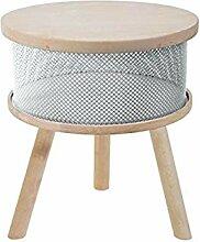Tosel Lucienne Tisch Truhe, Massiv, Holz,