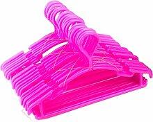 Tosnail Kinder Kleiderbügel 30 Stück, rosa