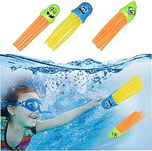 TOSSPER 3pcs Pool Octopus Spielzeug Kinder Lustige