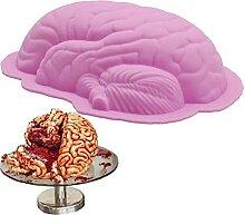 TOSSPER Kuchen Eiscreme-Form Manuelles DIY Gehirn