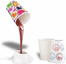 TotalCadeau Designer-Lampe Kaffee, LED