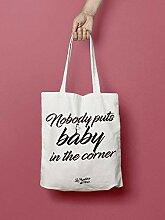 Tote Bag Dirty Dancing - Tote Bag Nobody Puts Baby