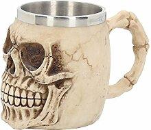 Totenschädel Skull Bierkrug Humpen Gothik