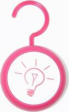 Touch Licht LEUCHTE Lampe PINK Schrankleuchte Aufhängen Kleiderschrank Buzzer