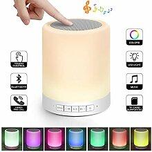 Touch Nachttisch Lampe mit Wireless Bluetooth