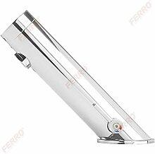 Touchless Infrarot Sensorarmatur mit Temperaturregulierung warm/kalt - berührungslose Mischbatterie Waschtischarmatur - Waschbecken Wasserhahn