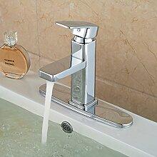 TougMoo Badezimmer Waschbecken Mischbatterie mit 8