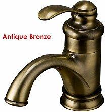 TougMoo Classic rot Kupfer Waschtisch Armatur chrom Gold Basin Wasserhahn Antik Bronze Messing, Antik Bronze