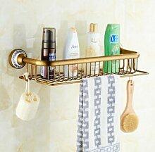 TougMoo Heiß beliebten zwei Schichten an der Wand montierte Bad Dusche Waschmaschine Handtuch Rack Warenkorb Bar Regal Bad Accessoires Shampoo Halter, Weiß