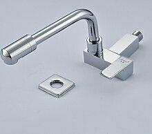 TougMoo Messing verchromt Badezimmer Waschbecken Wasserhahn Pool Waschbecken wasserhahn Für kalten Wasserhahn Tippen