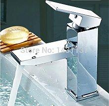 TougMoo Neue Design Top Hochwertige Messing Badezimmer heiße und kalte Waschtisch Armatur