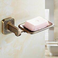 Tougmoo Neues Produkt, Vintage Badezimmer Accessoires Antik Finish Soap Warenkorb/Soap Dish/Seifenhalter/Wc Metall Regal