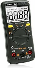 TOUGS M101 True-RMS Digital Multimeter Autorange 6000 Counts Elektrischer Tragbar Multi Tester mit LCD Hintergrundbeleuchtung