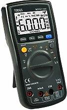 TOUGS M202 True-RMS Autorange Digital Multimeter Elektrischer Multi Tester mit REL und MAX / MIN Datum Hold