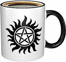 Tounuta Kaffeebecher Supernatural symbolisiert 325