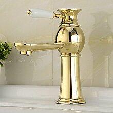 Tourmeler Golden Badezimmer Waschbecken Mixer mit