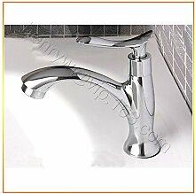 Tourmeler Kalte Waschbecken Wasserhahn aus Messing, verchromt kaltes Wasser, L 15505, Chrom, Hellgrau