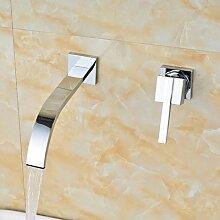 Tourmeler Mehrere design Waschtisch Armatur für Bad Wandmontage chrom, ro
