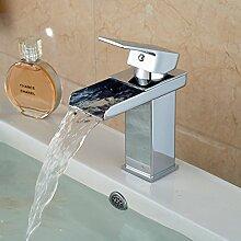 Tourmeler Neu Design WC-Armatur für Bad Messing verchromt Wasserfall Armaturen weit verbreite