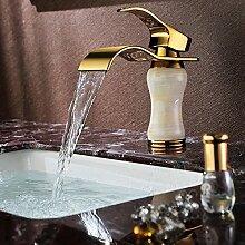 Tourmeler Wasserfall Tippen Waschtisch Armatur
