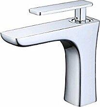 Tourmeler Werk direkt Schöne Hot Sale Zeitgenössische einzigartige Form Luxus einzigen Griff Wasserfall Wasserhahn Toilette Waschbecken Mischbatterie, niedrigen Chrom Wasserhahn