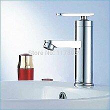 Tourmeler Zinklegierung Waschbecken Armatur für Bad, Mode wenig Kaiser Einloch tippen, heißen und kalten Becken Wasserhahn, J 14738