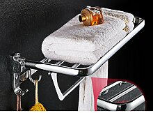 Towel Bar Edelstahl Handtuchhalter Bad-accessoires Faltung Handtuchhalter