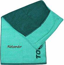 Towell | Towel Plus Fitness Handtuch grün mit
