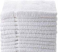 Towels N More Handtücher, 16 x 27, 12 Stück,