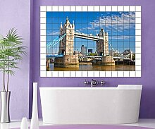 Tower Bridge London Fliesenaufkleber 15 10 25 20