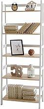 Tower - Bücherregal/Stehregal mit 5 Regalböden