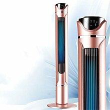 Tower-Ventilator Oszillierende Lüfter, 3-Gang-Einstellungen Mit Timer Touch Screen Temperaturanzeige - Silent Bodenventilatoren,A,H90CM