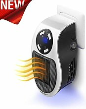 ToWinle Mini Heizlüfter 500W Elektrische Heizung