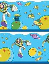 Toy Story Buzz Lightyear Tapete Bordüre 5M x 21,4 cm Selbstklebend