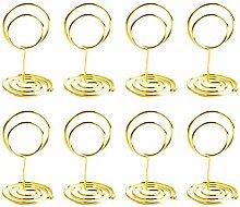 TOYANDONA 12 stücke Kartenhalter Kreisförmige