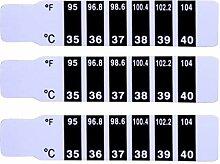 TOYANDONA 150Pcs Stirn Thermometer Streifen