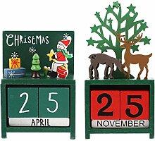 TOYANDONA 2 Stücke 2021 Weihnachtskalender