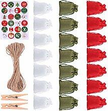 TOYANDONA 24 Set Weihnachten Adventskalender