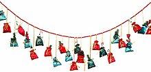TOYANDONA 24Pcs Weihnachten Adventskalender