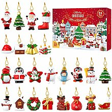 TOYANDONA 24Pcs Weihnachts Adventskalender