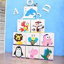 Toyandona Spielzeug-Aufbewahrungsbox, Stofftruhe,