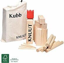 Toyfel Knuut Original Kubb Spiel XXL - FSC®