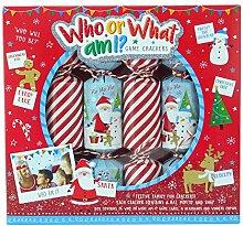 Toyland Pack of 6 - Wer Oder was Bin Ich Christmas
