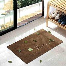 TOYM- Haustürmatten Fußmatte nach Hause Schlafzimmer Küche Halle Badematte rutschfeste Badematten nach Hause ( größe : 50*100cm )