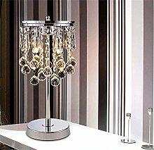 TOYM- Kreative Mode K9 Kristall Tischlampe Moderne Hochzeits-Dekoration Chinese Schlafzimmer Nacht Wohnzimmer Lampe ( Farbe : Kleine )