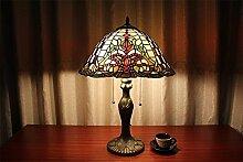 TOYM UK-16-Zoll-europäischen Stil Garten Art Tiffany-Lampen