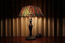 TOYM UK-16-Zoll-Warmwhite Modern Art Tiffany-Lampen