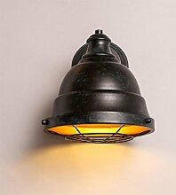 TOYM UK Eisen Wandlampe, Retro American Loft