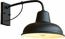 TOYM UK Vintage Schmiedeeisen Wandlampe,